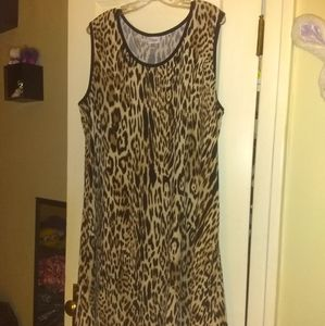 Avenue 22/24 Leopard Dress